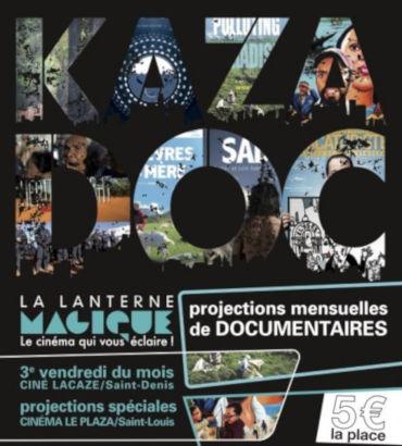 publicité projection KazaDOC de la Lanterne Magique